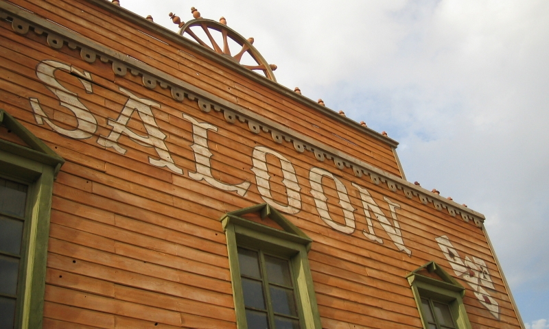 Deadwood South Dakota Downtown Saloon